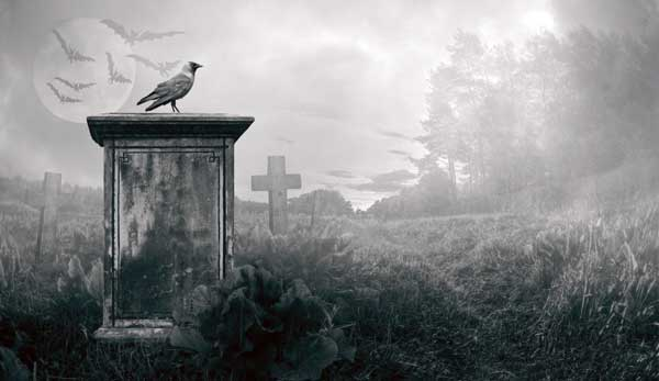 que significa soñar con cementerio de noche