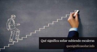 que significa soñar subiendo escaleras